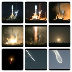 Imágenes del lanzamiento de Gaia.