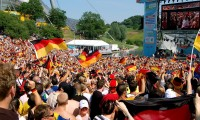 Aficionados al fútbol en Munich, durante el Mundial de Alemania de 2006.