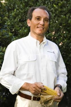 El ingeniero agrónomo Carlos Vicente