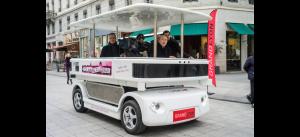 Pruebas de CityMobil2 en Lyon.