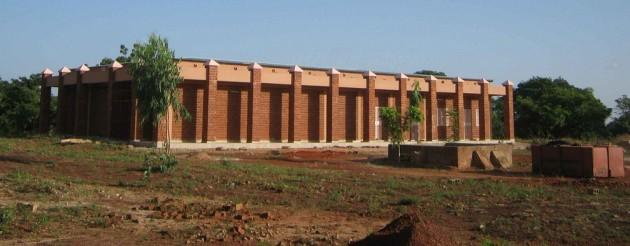 Aspecto del Hospital del Placer que atenderá a las mujeres en Burkina Faso.