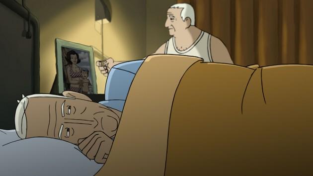 Un fotograma del largometraje 'Arrugas'