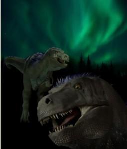 Recreación del tiranosaurio pigmeo 'Nanuqsaurus hoglundi'