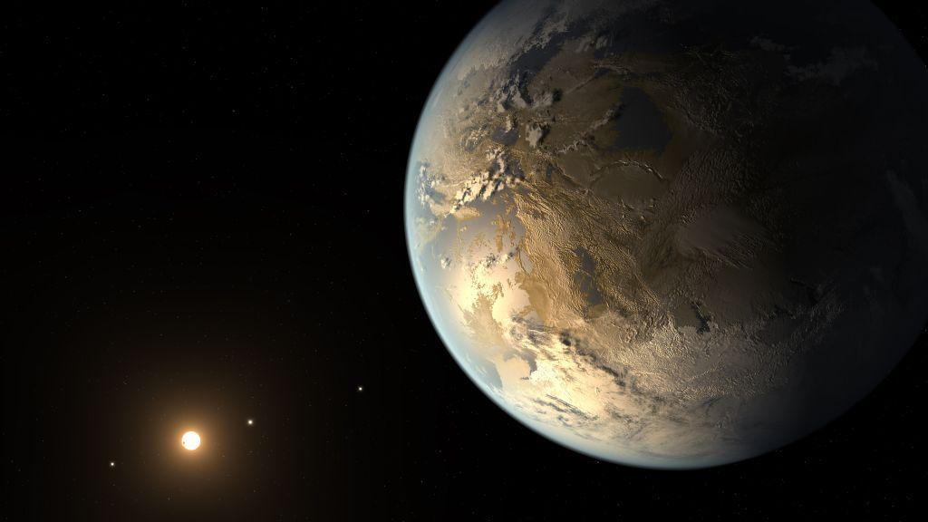 Resultado de imagen de Imagen de un exoplaneta