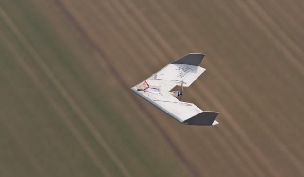Un dron de Sensefly.
