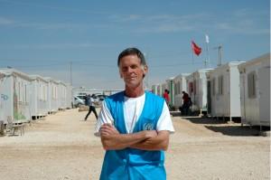El irlandés Brendan Dineen, jefe médico de Zaatari