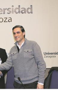 Manuel Arruebo, investigador del Instituto de Nanociencia de Aragón (INA) de la Universidad de Zaragoza