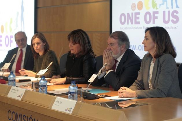 Jaime Mayor Oreja, en la presentación española de la iniciativa.