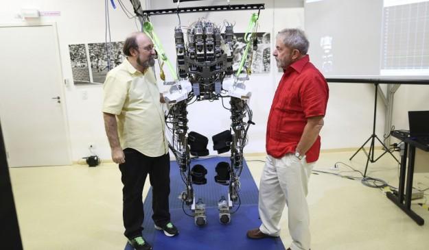 Miguel Nicolelis y Lula da Silva
