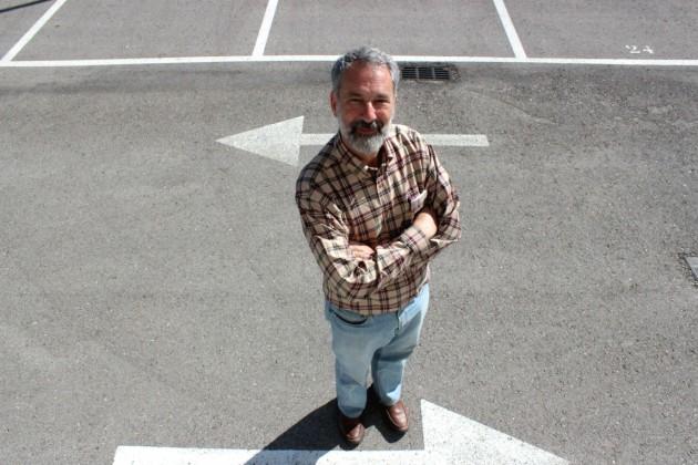 El matemático Charles Fefferman posa tras la entrevista