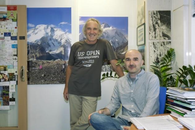 Los investigadores Erwin Wagner y Michele Petruzzelli