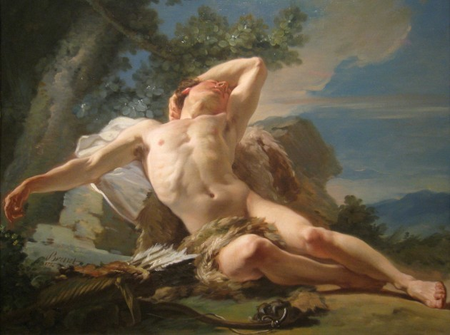 Zeus dej a Endimin durmiendo un sueo eterno El 25 de la eternidad la pasar con el pene en ereccin