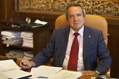 Emilio Lora-Tamayo, presidente del CSIC.