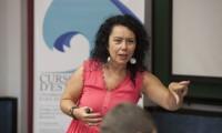 La presidenta de la SEPP, Marisa Salanova, en un