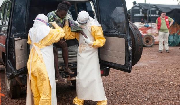 Centro de MSF dedicado al ébola, en Kailahun (Sierra Leona)
