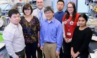 Yu Chen (centro) con su equipo del Centro Memorial Sloan Kettering de Nueva York